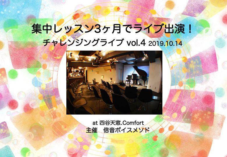 集中レッスン3ヶ月でライブ出演!